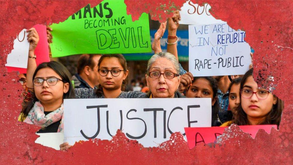 Hindistan'da protesto