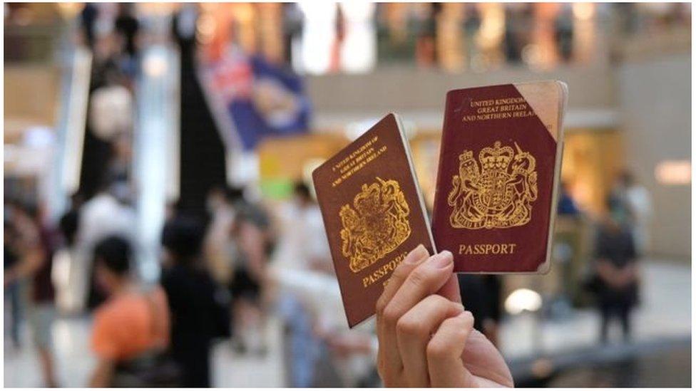 Paspor Hong Kong
