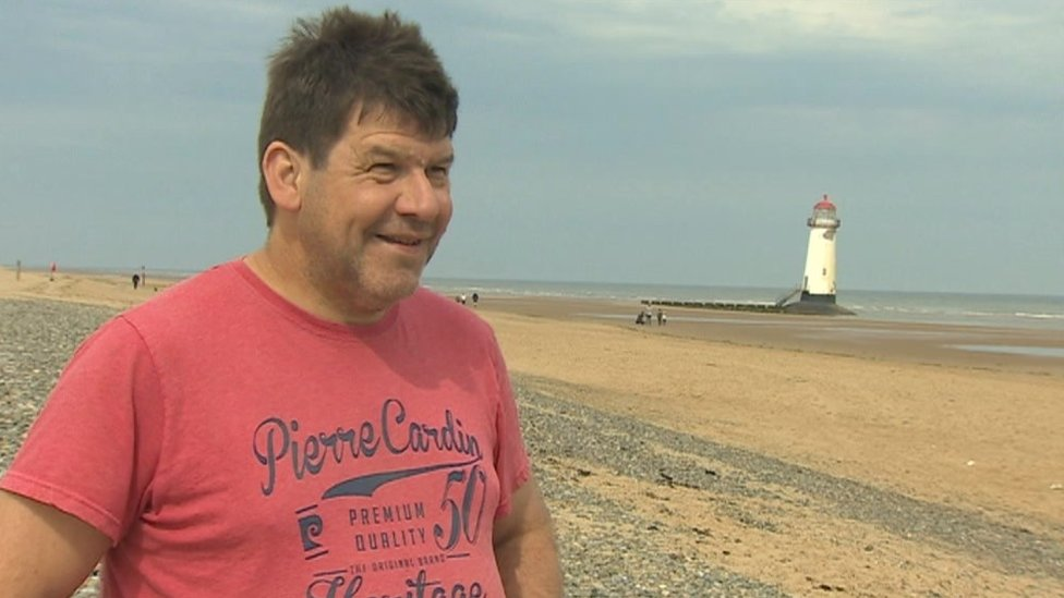 Man stuck in quicksand on Talacre beach wants more signs