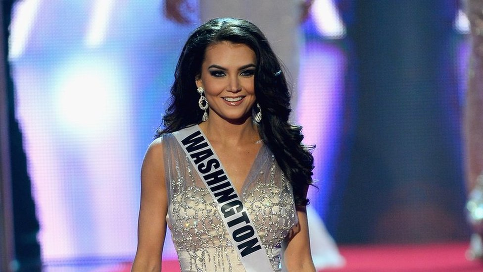 Cassandra Searles - beauty queen alleges Donald Trump repeatedly grabbed her backside, 2013