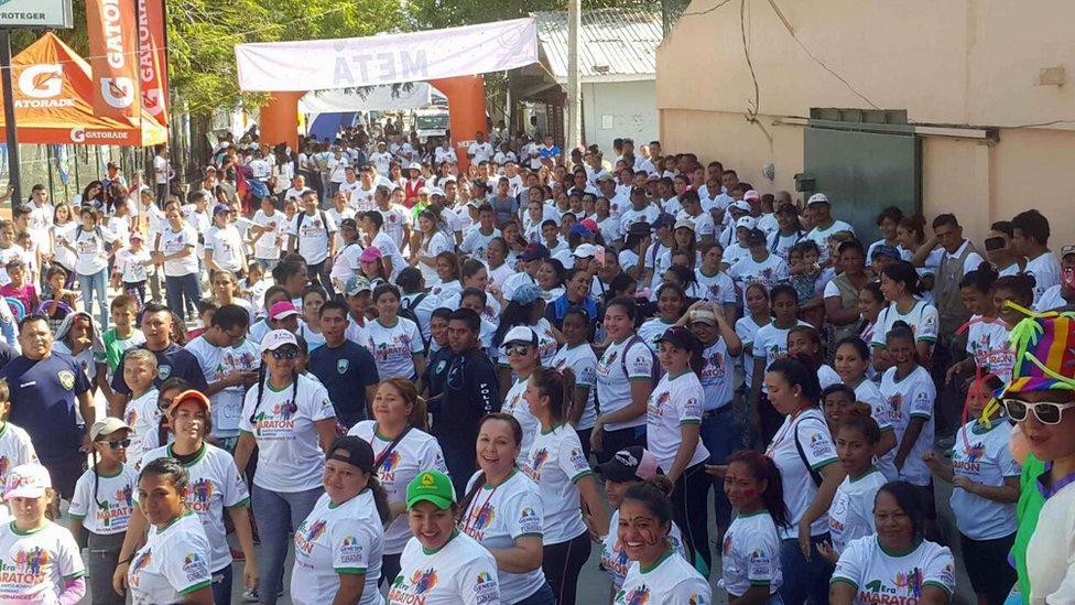 Maratón en Rivera Hernández.