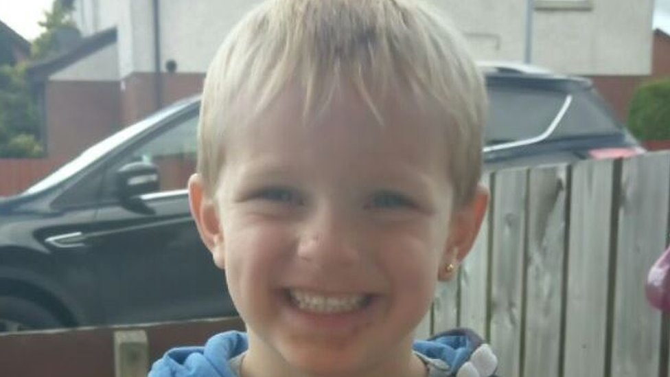 Newtownards: Boy, three, dies after car collision in Newtownards