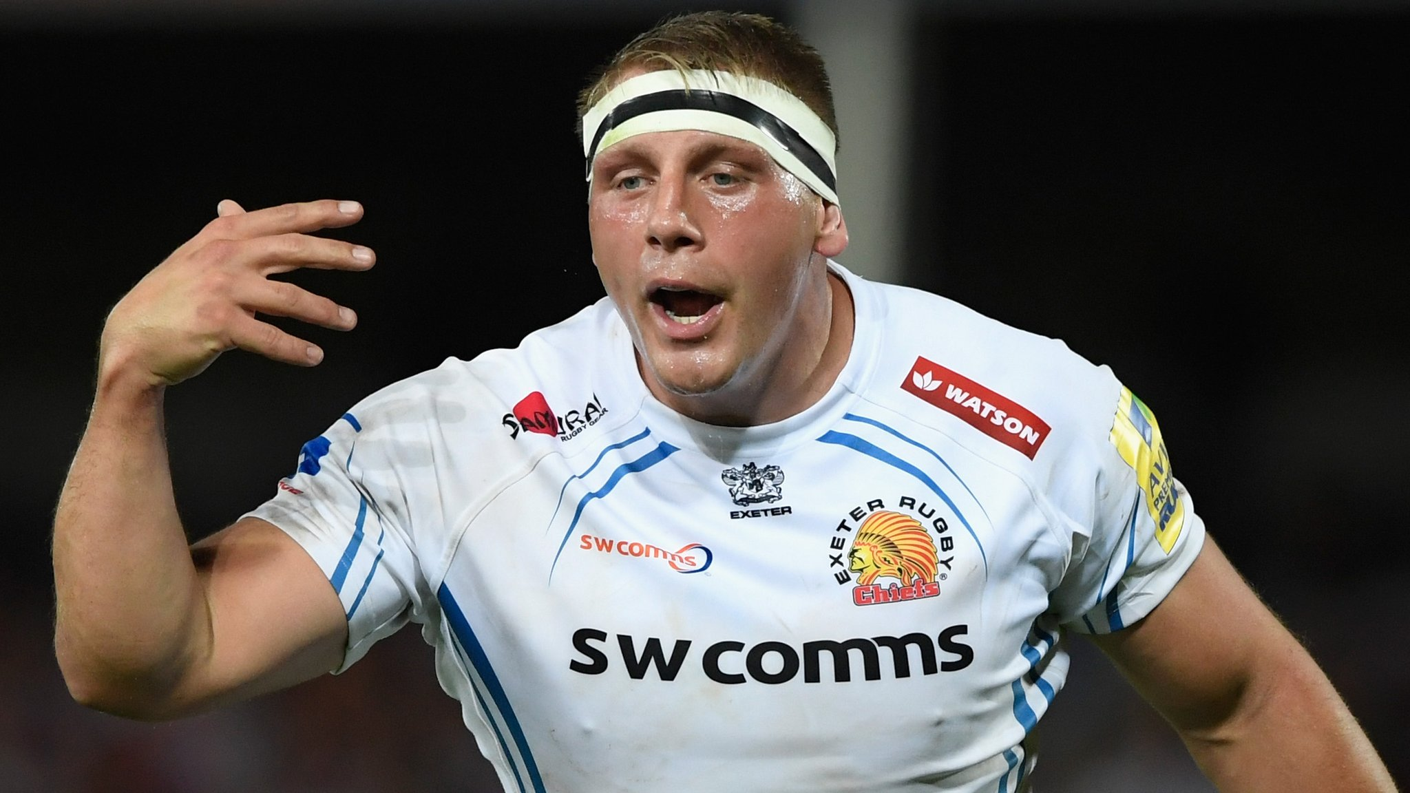 Carl Rimmer: Exeter Chiefs grateful for health after stroke forces retirement