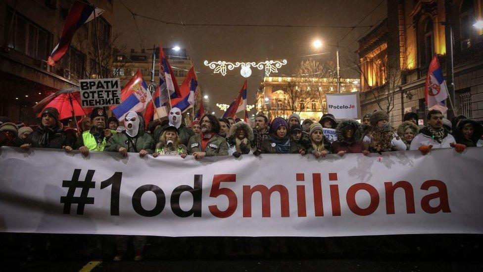 Майдан на Балканах? Чому Сербію охопили протести