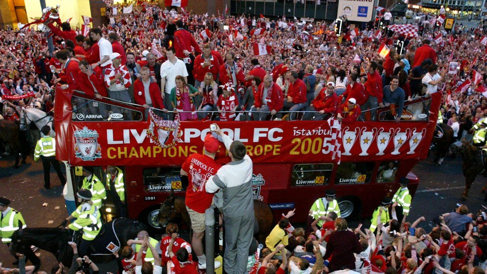 Liverpool draws up possible Champions League victory parade plans