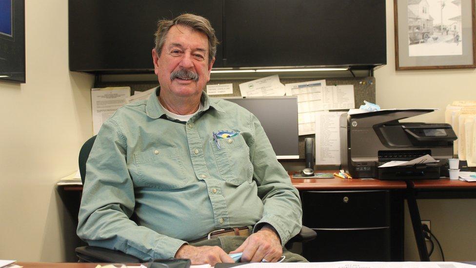 John Williams mayor of Colstrip, Montana