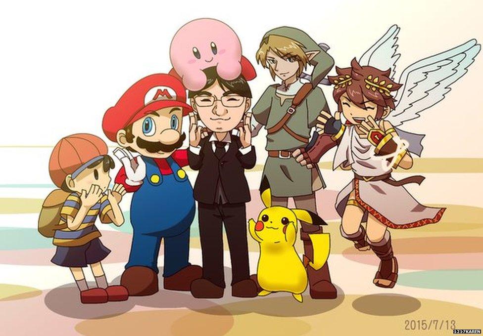 Nintendo S Satoru Iwata Gamers Pay Tribute Bbc News