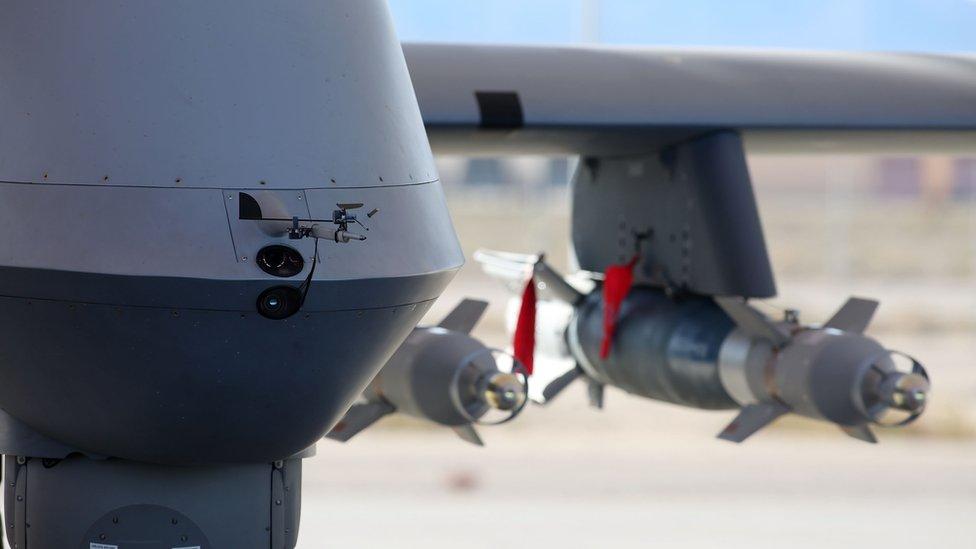 Reaper drone (file photo)
