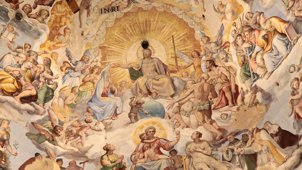 Imagen de la cúpula de la Catedral de Santa María del Fiore en Florencia