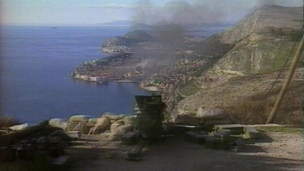 Granatiranje Dubrovnika 1991. godine
