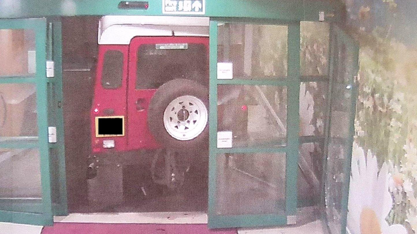 Ram-raiders target Liverpool hospital's cash machine