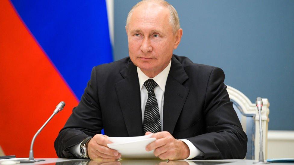 Vladimir Putin en junio de 2020.