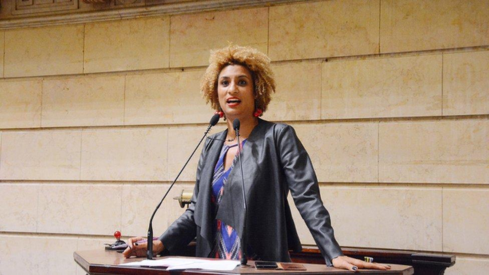 Marielle Franco discursa na Camara do Rio de Janeiro