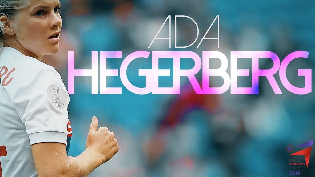 BBC Women's Footballer of the Year 2019 contender Ada Hegerberg