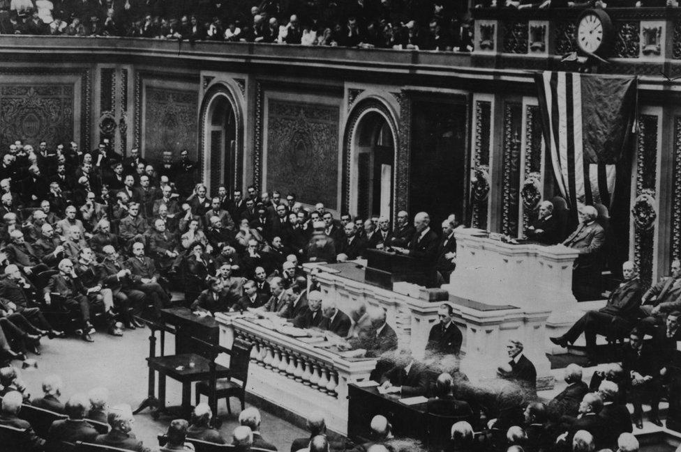 Congreso de EE.UU. en 1917