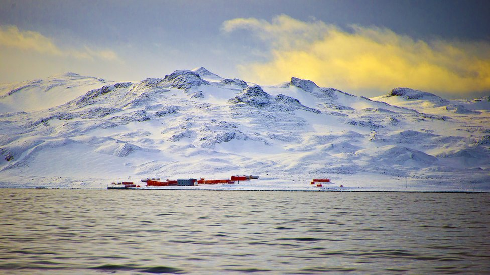 Chinese base on King George Island in Antarctica