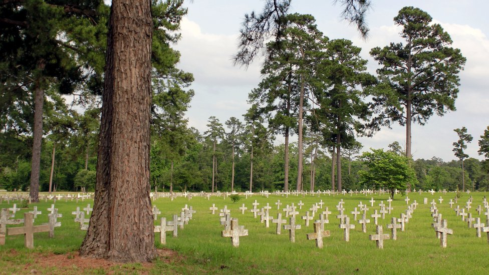 Cementerio en Huntsville