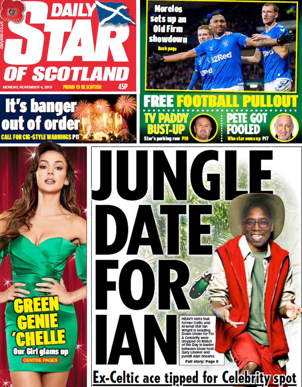 The Star of Scotland front page