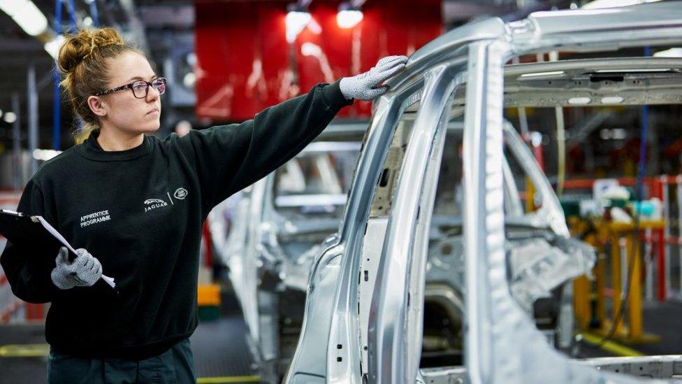 Jaguar workers put on three-day week until Christmas