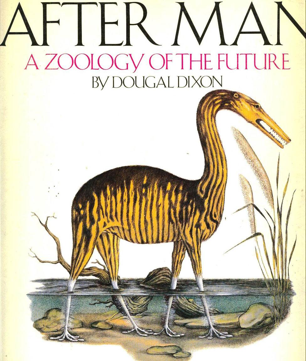 """Portada del libro """"Después del hombre: una zoología del futuro"""""""