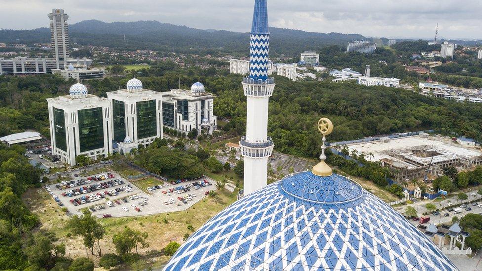 La corte de Syariah del distrito de Petaling