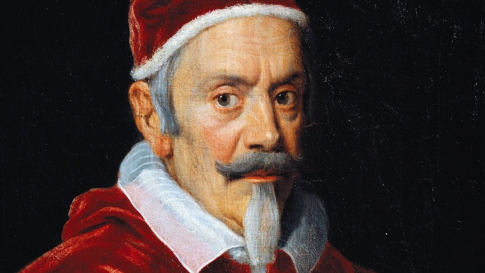 Oil portrait of Pope Alexander VII.