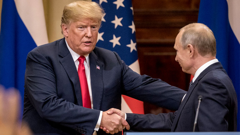 Trump-Putin summit: US president under fire over poll meddling comments