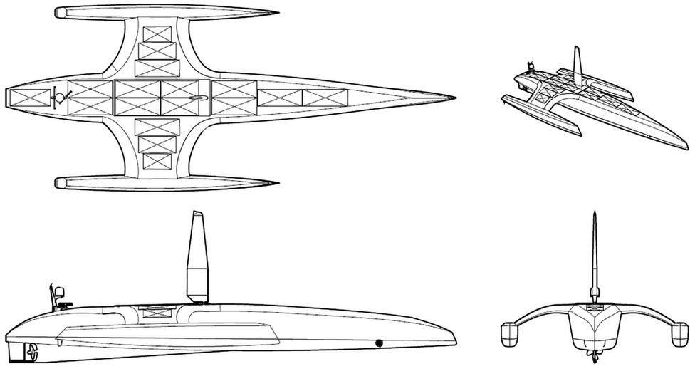Mayflower Autonomous Ship drawings