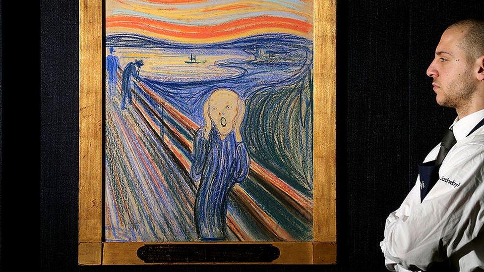 """""""El grito"""" de Munch: el Museo Británico desmonta una de las teorías má ..."""