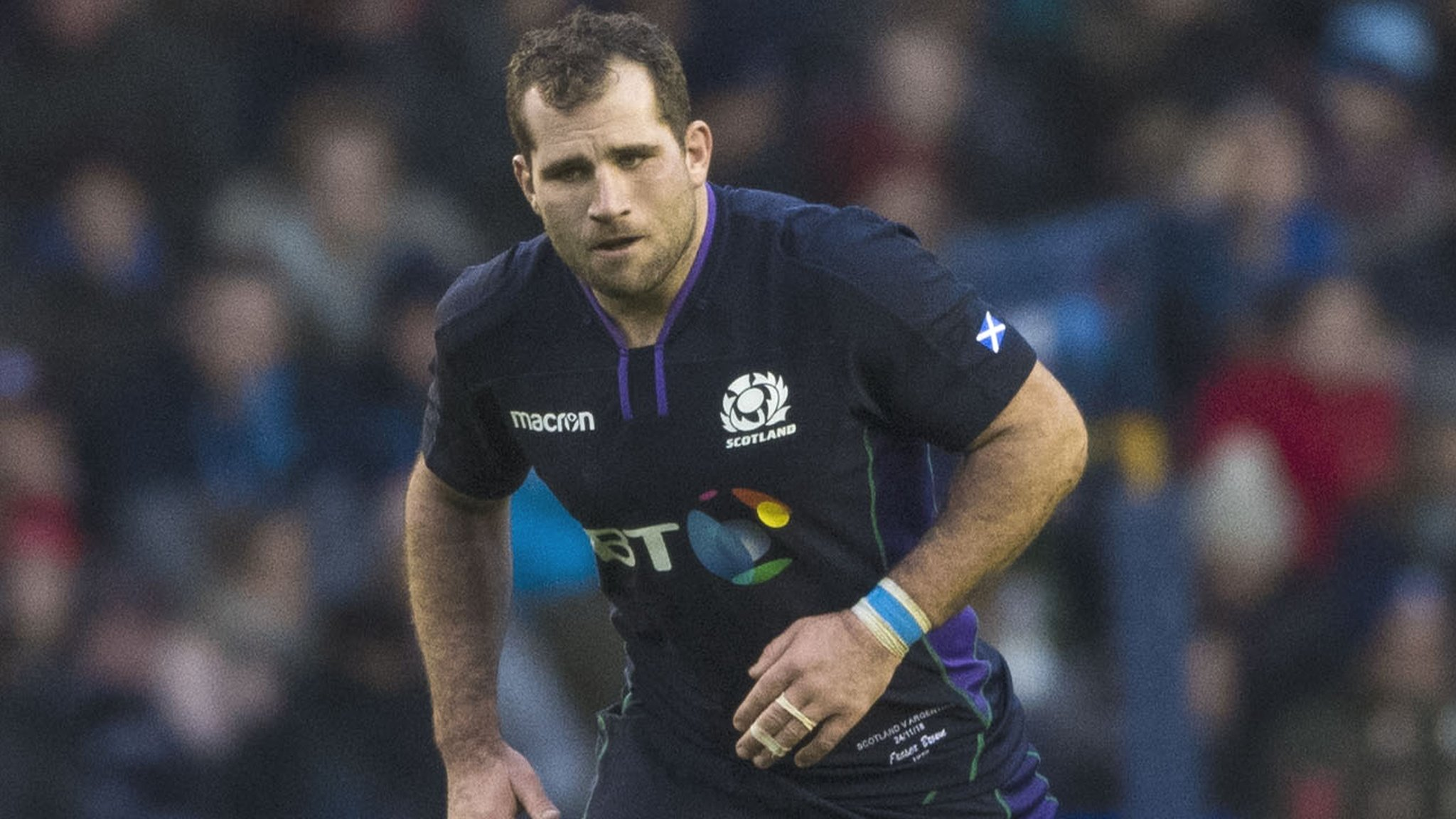 Fraser Brown: Glasgow & Scotland hooker set to miss Six Nations start