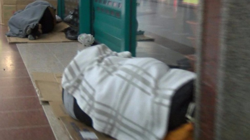 Stratford shopping centre shelters dozens of homeless