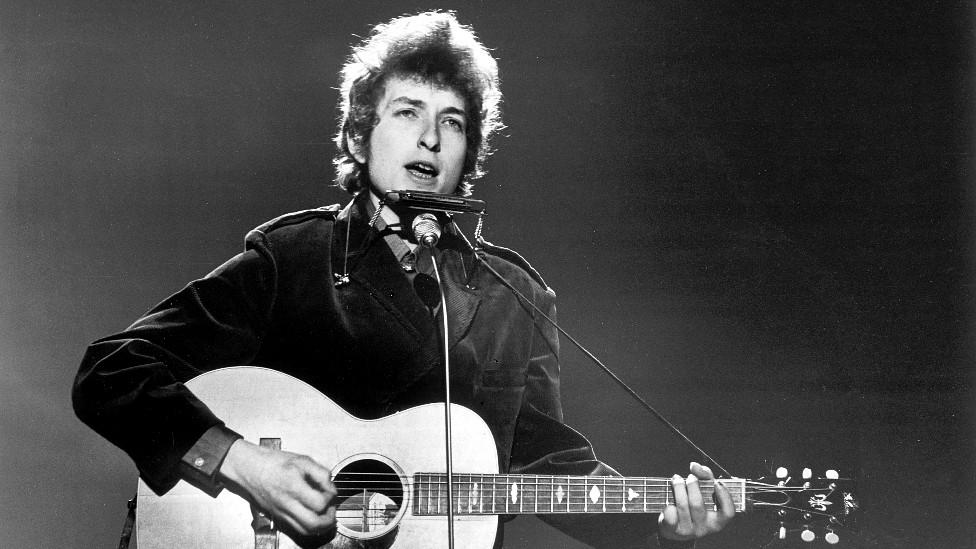 Bob Dylan en la BBC en 1965