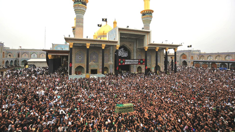 Kadhimiya es un lugar de peregrinación importante para los musulmanes chiitas.