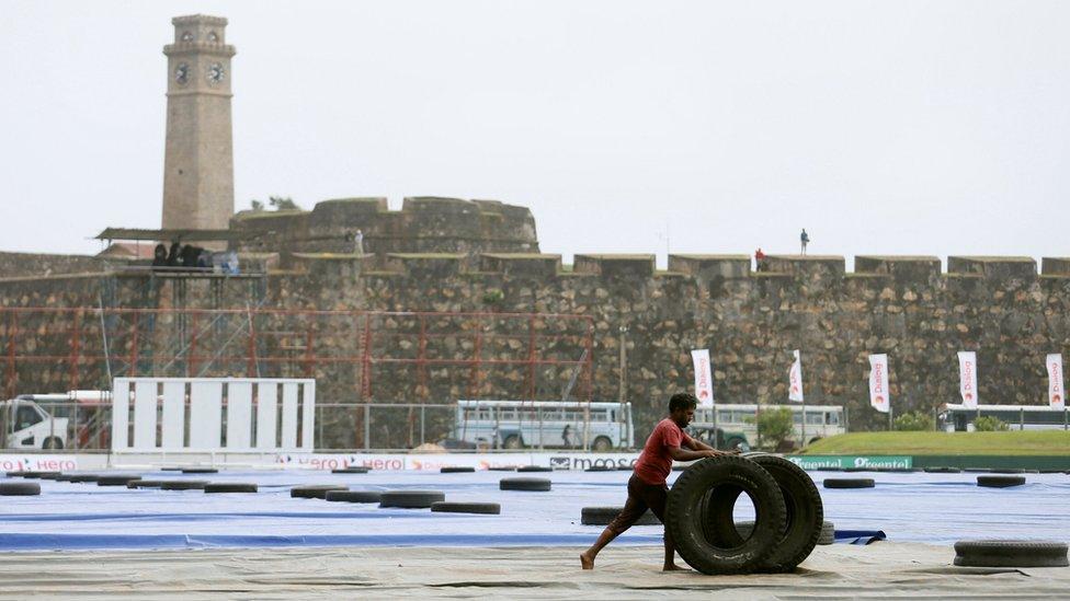 Sri Lanka's Galle cricket stadium risks being demolished