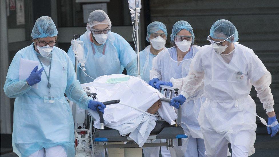 Paciente en Francia