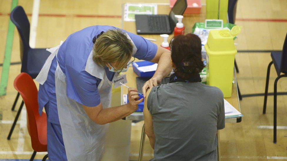 İngiltere'de aşı programı