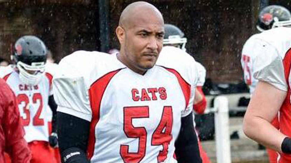 Cambridgeshire Cats American football player was an 'amazing man'