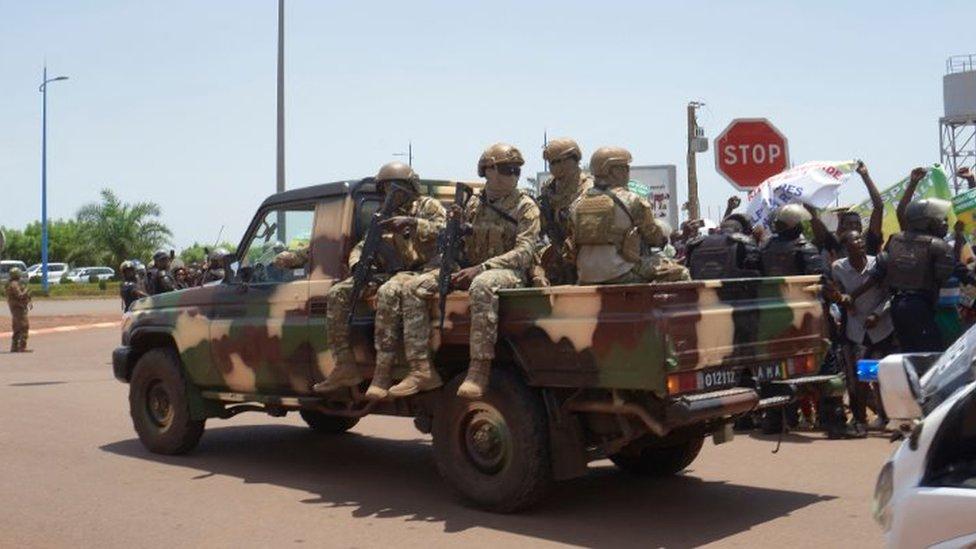 Лавров подтвердил обращение Мали к