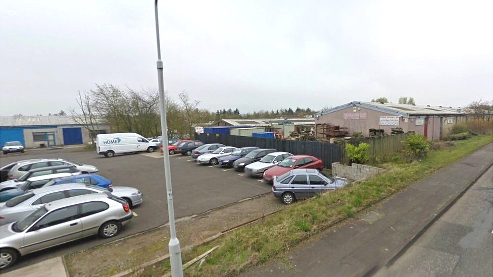 Whitehill industrial estate in Glenrothes