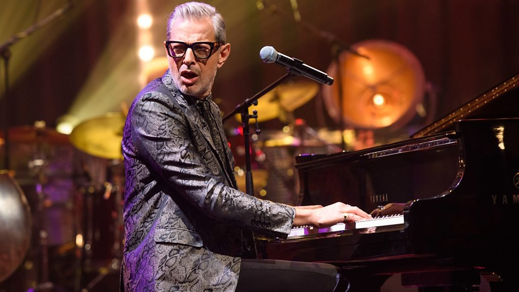 Jeff Goldblum: When I cry at music it confuses my son