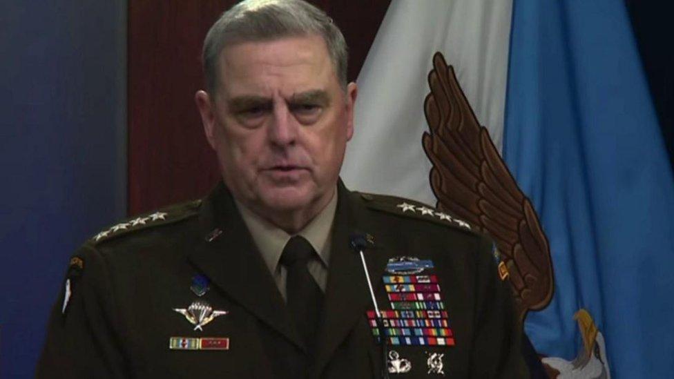 الجنرال مارك ميلي،