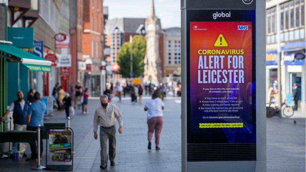 Pusat kota Leicester