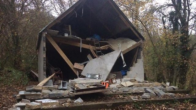 Midsomer scouts 'gutted' after vandals destroy hut
