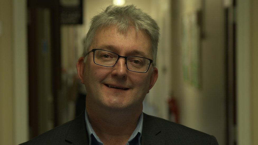 Darren Atkins, the trust's deputy director of information technology