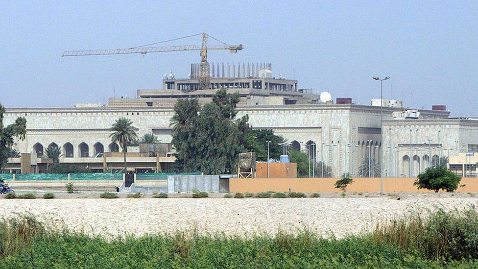 ABD'nin Irak Büyükelçiliği