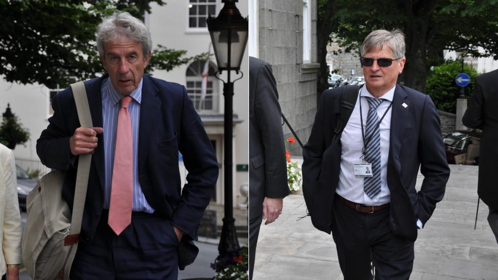 Deputies Richard Graham and Rob Prow