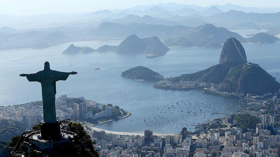 Panorámica de Río de Janeiro.