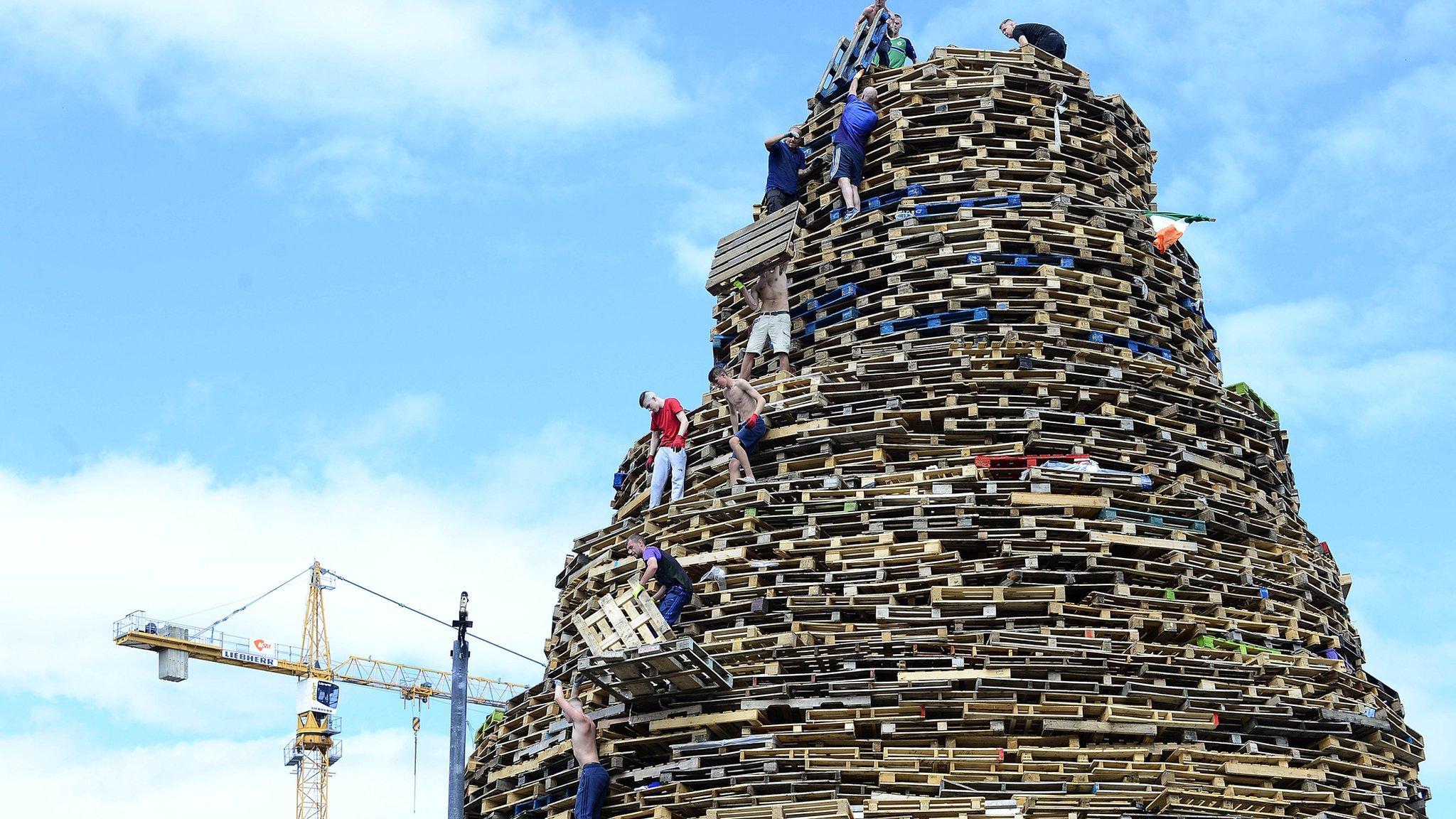 'Bonfire diversion' row breaks out at Belfast city council