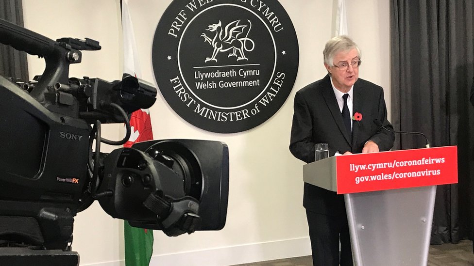 Covid: Wales firebreak to end regardless of England lockdown - 5