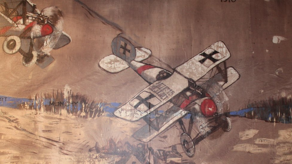 Lost Staffordshire WW1 wall hanging unveiled